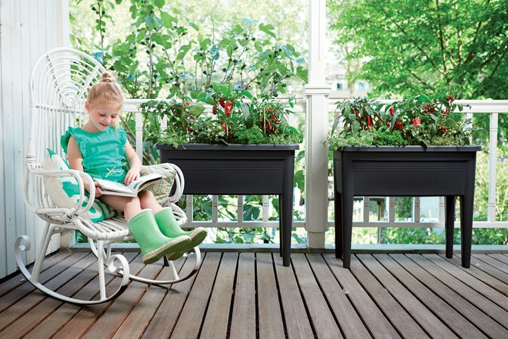 warzywnik-elho-makeithome-2 | grow table for home, garden, terrace, eko, green, food, vegetables, own