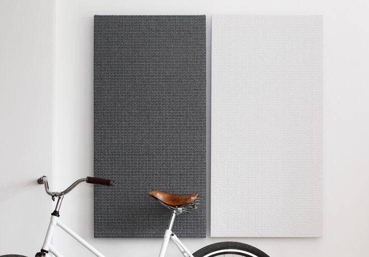 AuBergewohnlich Sound Absorbers FLY   With Cotton/linen Textured Fabric. Design: Monika  Järg.