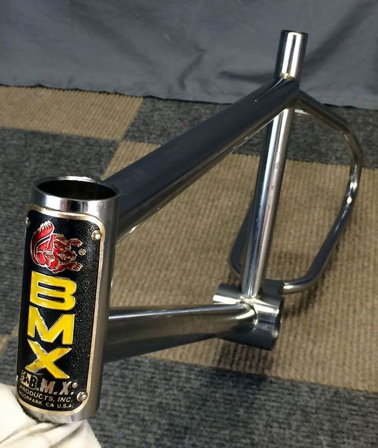 VINTAGE 1985 MONGOOSE BMX BIKE FRAME CALIFORNIAN SUPERGOOSE M1 PRO-CLASS EXPERT #Mongoose