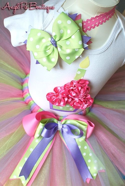 Baby Girl's First Birthday  ....  #baby girls birthday themes
