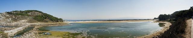 Lagoa das Cies - Galicia - Spain    Tambien llamado el Lago de los Nenos de las Cíes, posee un ecosistema submarino singular