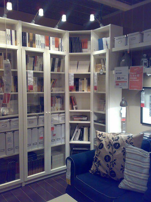 Mejores 12 im genes de estanterias billy en pinterest estanter as billy sala de estar y vitrinas - Ikea estanterias librerias ...