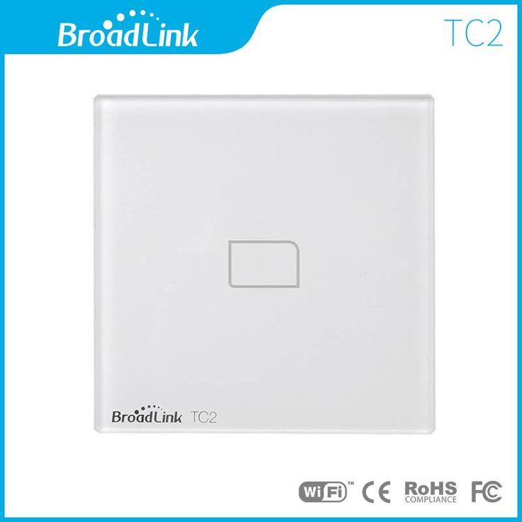 Broadlink TC2 EU Standard 1 Gang mobile Wireless Remote Control Light Switch switch by broadlink rm pro,Smart Home Automation