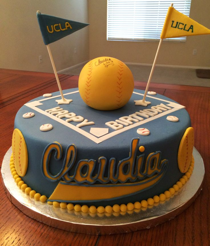 Softball Cakes Images