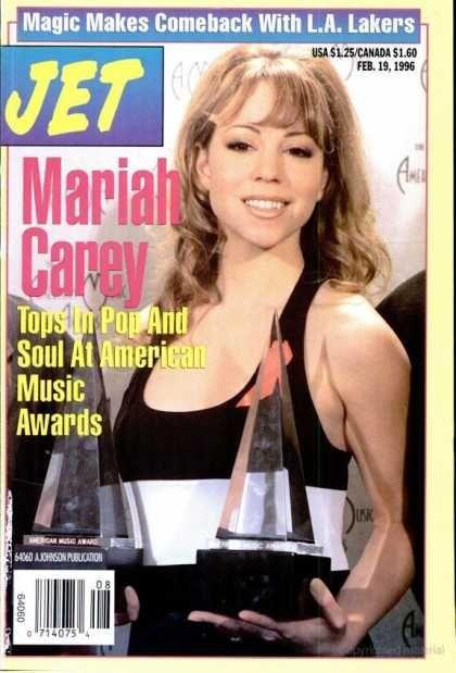 Vibe Magazine Cover Mariah Carey 1996 Mariah Carey Has