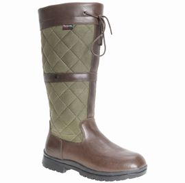Barbour Lockyer Ladies Boot Brown FREE Boot Bag - Country Boots and Shoes