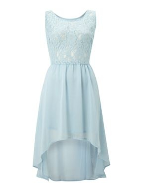 ... version-True Decadence Lace dip dress Light Blue - House of Fraser