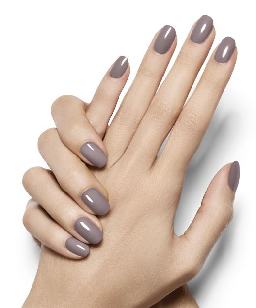 adorable manicure - chinchilly By Essie.  Nice look for church, business meetings, activities at the school.
