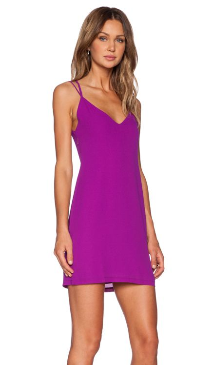 Three of Something Directions Mini Dress in Magenta | REVOLVE