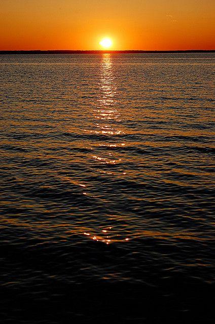 Ottawa's Hidden Treasures: Britannia Beach sunset