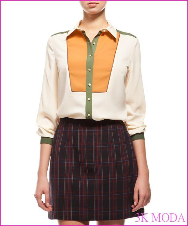 Koton Bayan Gömlek Modelleri 2016 - http://www.3kmoda.com/blog/koton-bayan-gomlek-modelleri-2016