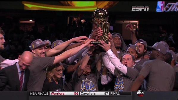 Warriors Golden State campioni NBA dopo 40 anni
