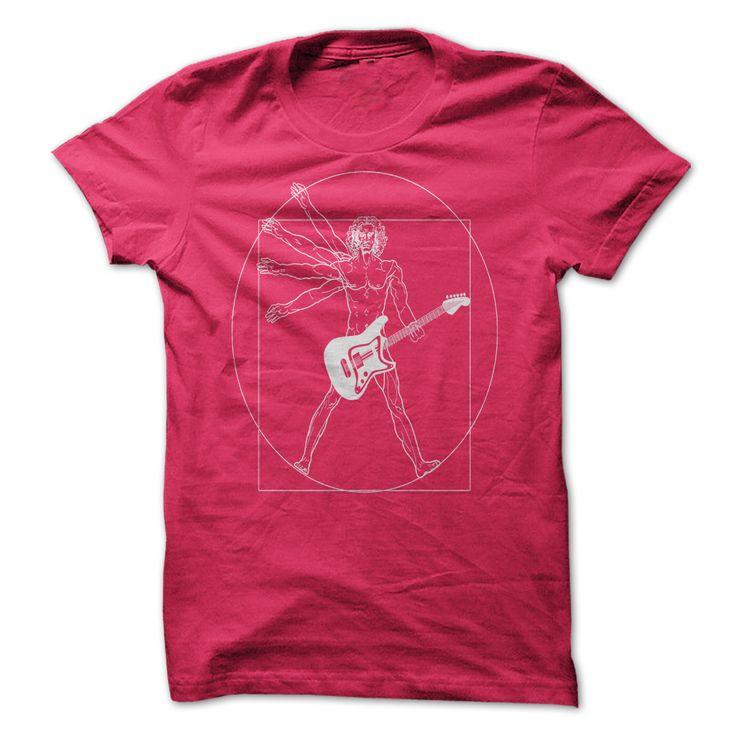 Vitruvian Guitar Man  buy now only 19$