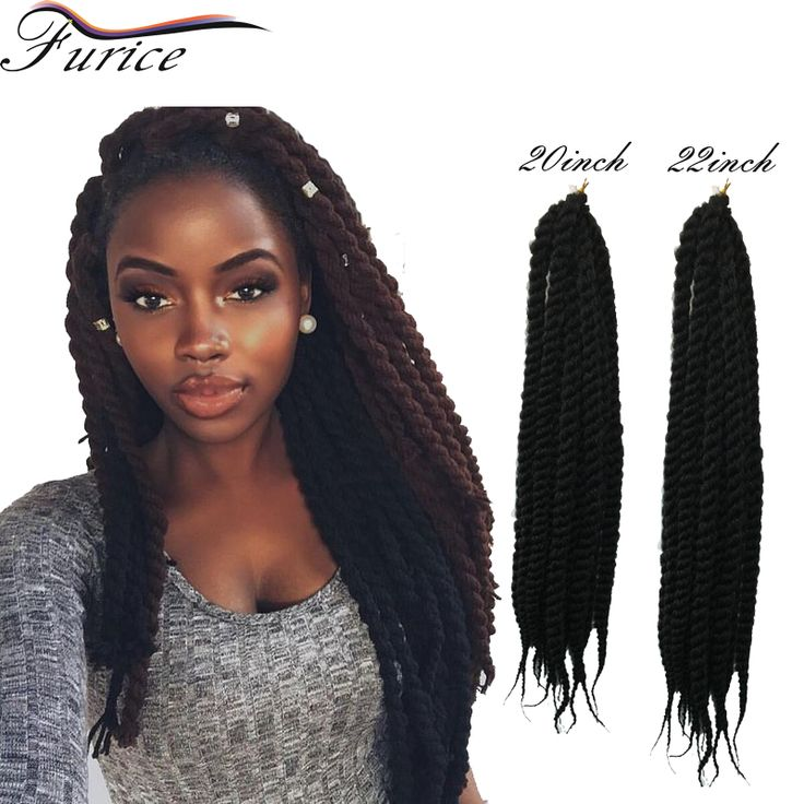 Aliexpress.com : Buy Havana Mambo Twist Crochet Braid Hair Synthetic Extensions New Senegalese Style 2s Box Braid Hair Free Shipping from Reliable hair sculpture suppliers on crochet braiding hair extension Store