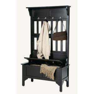 Like this one, too!  Less than half the price of the Pottery Barn one.  Black Hall Tree-5650-49 at The Home Depot