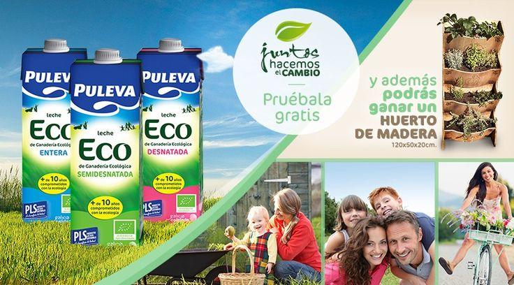 Nuestro Huerto Urbano utilizado en una promocion de leche puleva https://www.facebook.com/pulevameva?sk=app_154581087931912