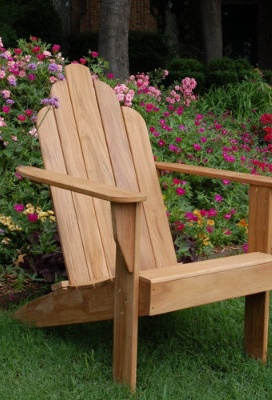 but Jonathan could build it ;) All-natural Teak Adirondack Chair.