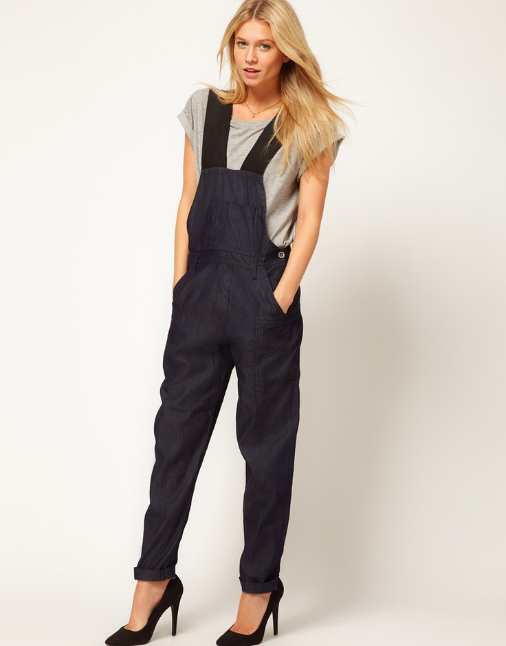 Call me crazy, but I love these ASOS Dungarees. 20% off w/code SUPERBOWL20