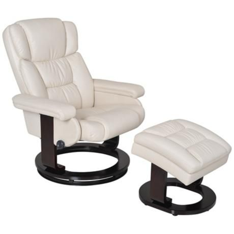 Serta Ivory and Espresso Recliner and Storage Ottoman - $500  sc 1 st  Pinterest & 26 best recliners images on Pinterest | Recliners Ottomans and ... islam-shia.org