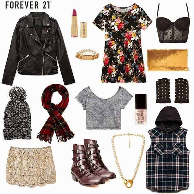 How to Chic: OUTFIT IDEAS GRUNGE STYLE