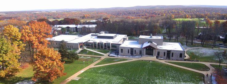 Fall scene - engineering/science building, nursing building and beyond