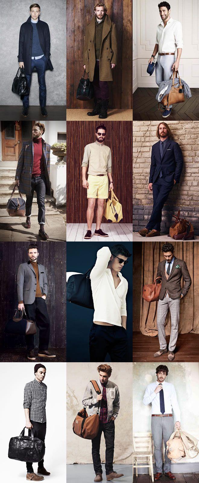 Men's Duffle Bag and Holdall LookbookDufflelookbook Jpg 660 1600, Mens Holdall, Men Style, Men Holdall Duffel, Men Fashion, Holdall Lookbook, Men'S Fashion, Men Duffle, Mensfashion Lookbook