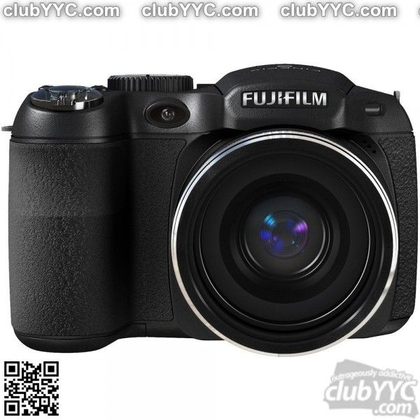 Fuji FinePix Digital Camera With 14MP Resolution, 18x Optical Zoom, Viewfinder & Dual Image Stabilization (S2940) by www.clubyyc.com
