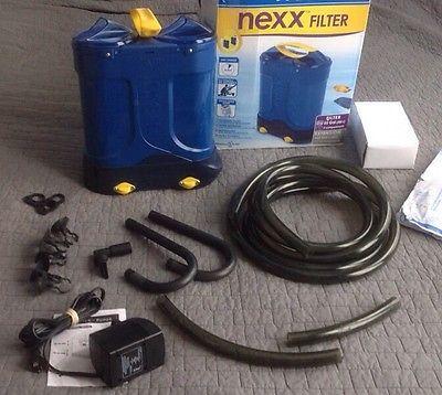 Api Nexx Filter 55 Gallon Tank Canister Filter W Pump