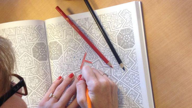 Dessins issus d'un album «Art Thérapie», #powerpatate #créativité