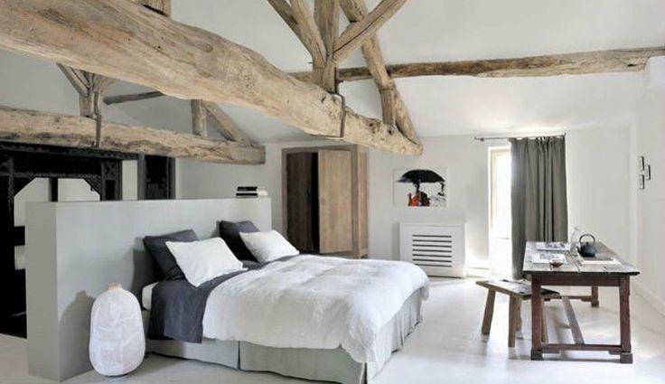 25 beste idee n over plafonds met houten balken op pinterest nep plafondbalken balken for Schilderen moderne volwassen kamer