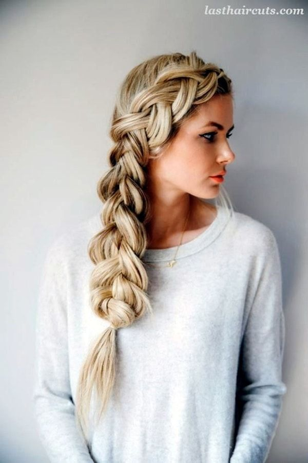 Best Hairstyles For Women With Thin Hair Best Hairstyles For Women Quick And Easy Hairstyles Easy Braid H Hair Styles Long Hair Styles Gorgeous Braids