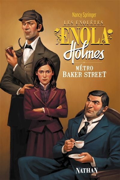 Ma chronique du dernier tome des aventures d'Enola Holmes