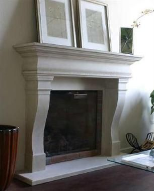 99 best French Fireplace Mantels images on Pinterest | Home, Stone ...