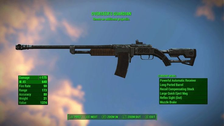 The sprawling wasteland of 'Fallout 4' can be a tough place without a solid weapon (or three) at your side. Here are 24 of the best and where to find them.