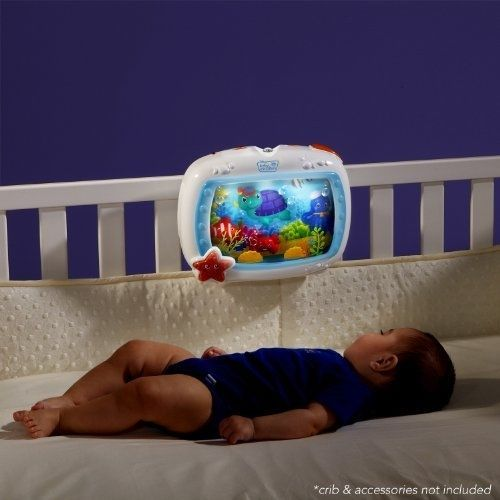 Baby Crib Toy Musical Infant Soother Light Up Sensory Toys Bed Mobile Gift New #BabyEinstein