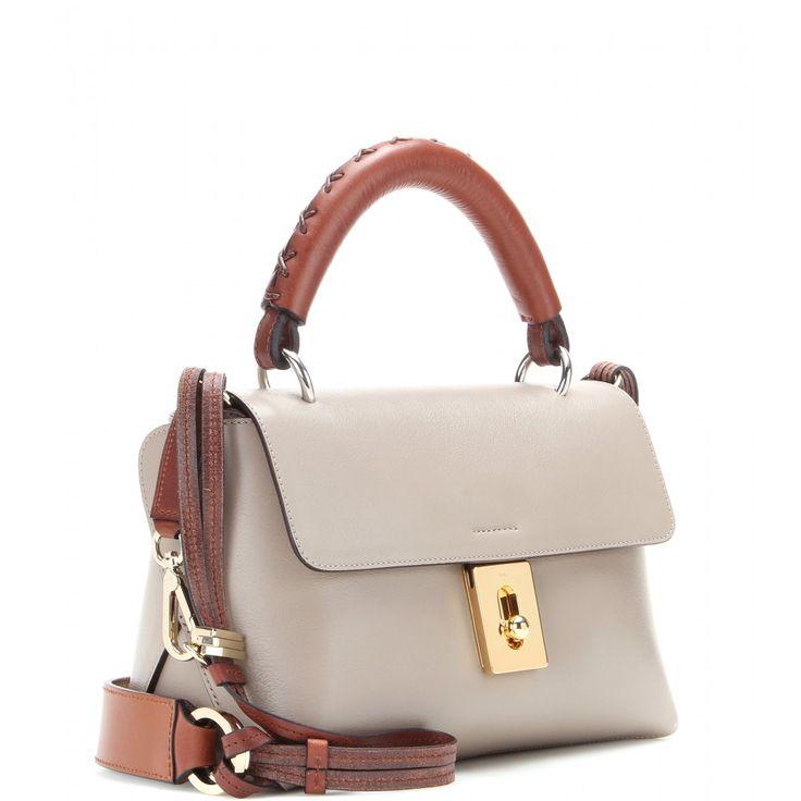 Chlo¨¦ - Fedora leather shoulder bag - mytheresa.com | HANDBAGS ...