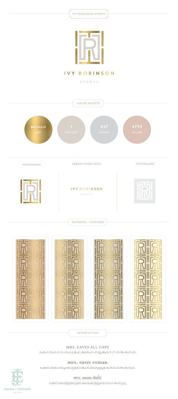 Ivy Robinson Branding Design by Emily McCarthy