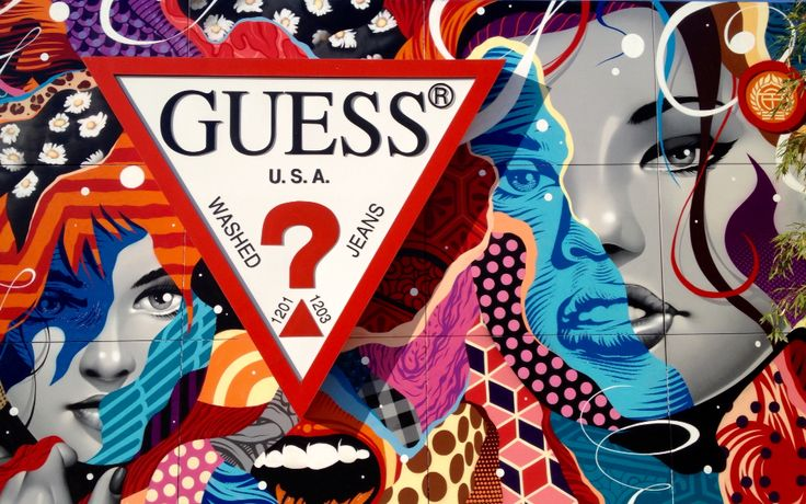 GUESS? Corporate Headquarters Mural by Tristan Eaton - Los Angeles, California