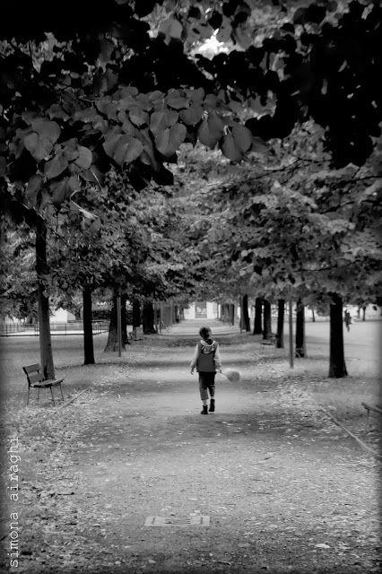 bimbo autunno, viale