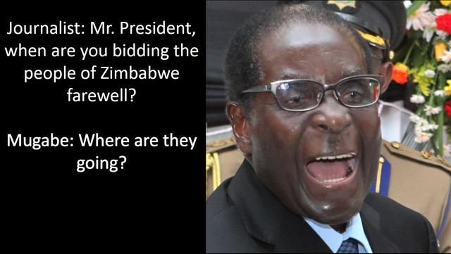 Whoops Mugabe Quotes Presidential Quotes Funny Quotes