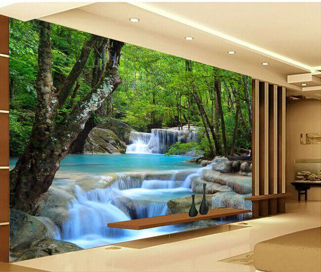 Resultado De Imagen Para Paisajes Para Paredes Interiores Murales Murales Decorativos Diseño De Barra De Bar