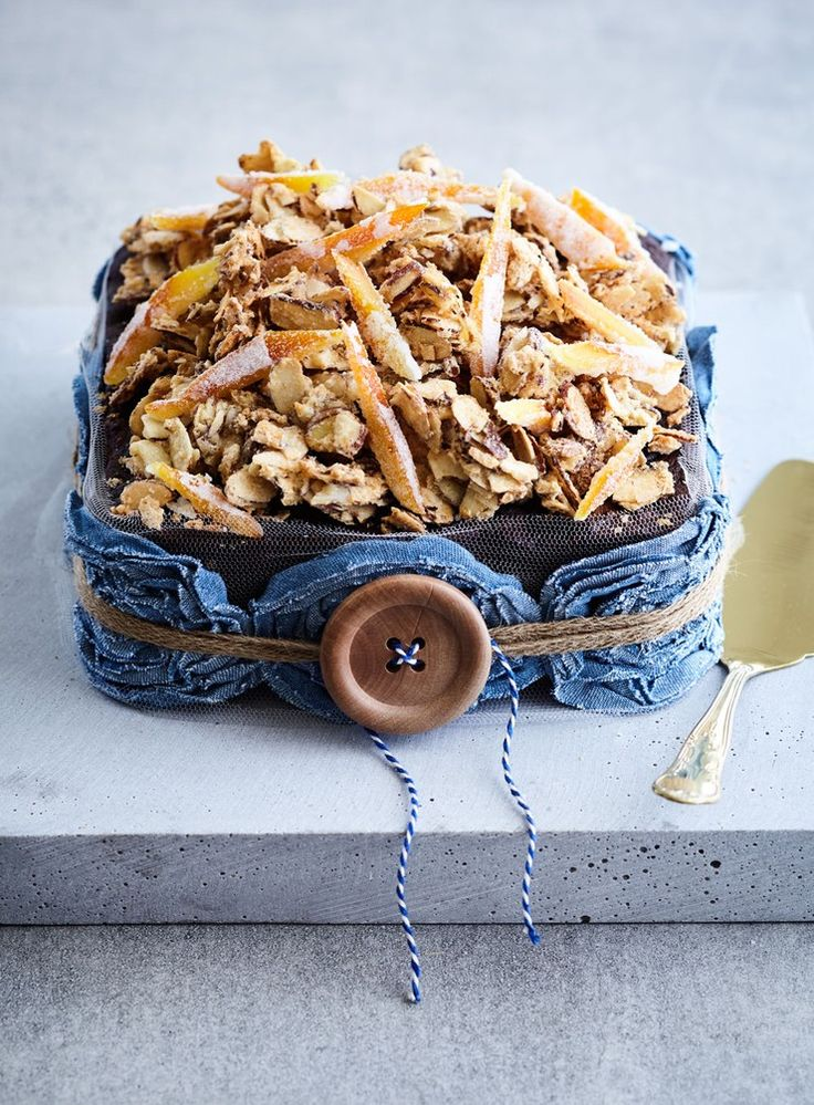 Packed with fragrant spices, sticky fruit, rich dark chocolate and a generous amount of booze, this should appeal to even those who think they aren't keen on Christmas cake.