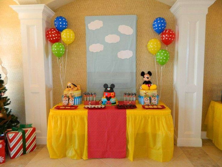 Mickey Mouse Clubhouse Birthday Party Ideas   Photo 6 of 11