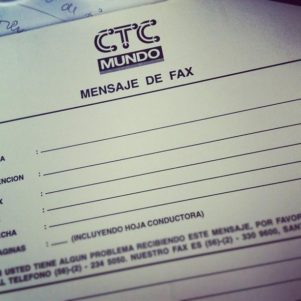 Fax viejos