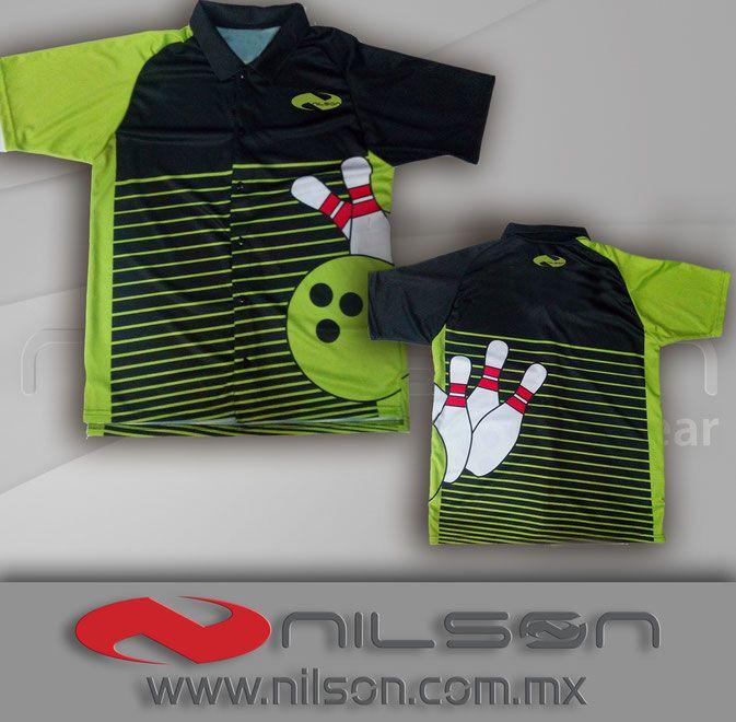 jersey boliche de botones sublimacion fullcolor nilson