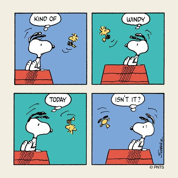 Twitter / Snoopy: Monday with Snoopy and Woodstock. ...