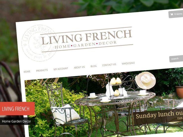 Living French is a Melbourne based company selling Homewares, Decoration and Gifts for the past 14 years. Check out their new site http://www.studio72.com.au/portfolio-item/living-french/