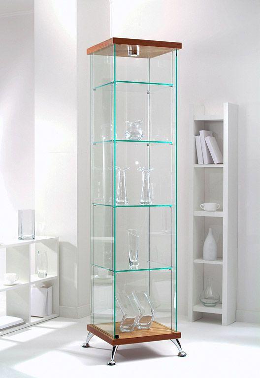 Квадратная витрина | Стеклянные витрины