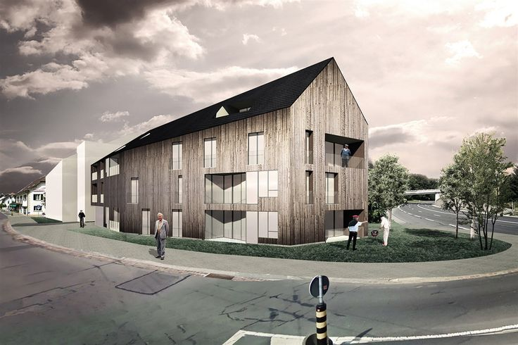 OPERASTUDIO - Competition - Home for elderly and social housing #Switzerland #view