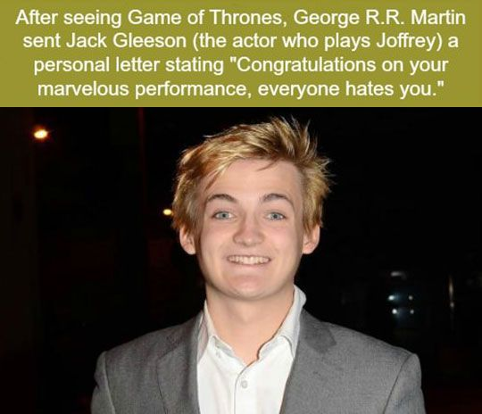 Jack Gleeson Nailed It